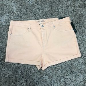 Wild fable pale pink high rise shorts size 10